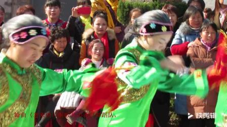 MVI 0901 纪念毛主席诞辰124周年演出 舞曲 老来俏 广丰桐畈开心就好舞蹈队2017年12月26日顾