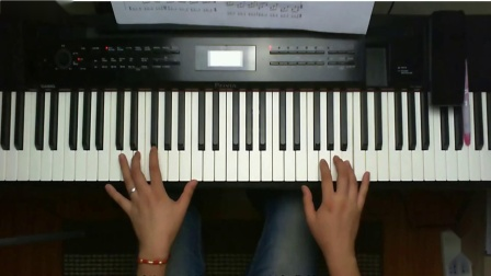 《梦中的婚礼》钢琴教学,很详细的指法讲解,3分钟让你学会弹奏