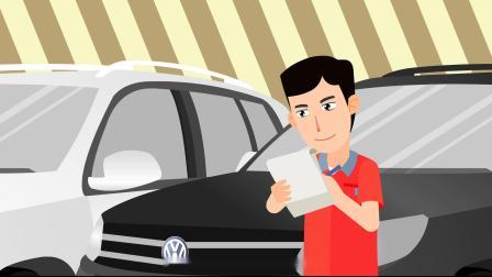 汇美动画---MG飞碟说类动画案例(大众汽车)