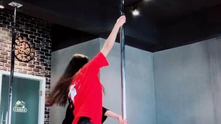钢管舞高级技巧豪雅华翎舞蹈学校13889504531