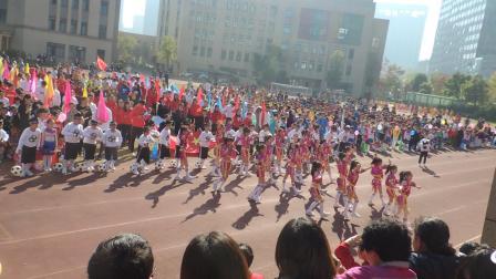 杭州市丹枫实验小学2018秋季运动会开幕式-三年级八班