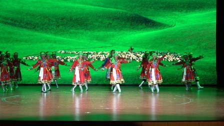 蒙古舞《阿爸的勒勒车》鸿福助老中心祝贺自治区老年人权益保障条例颁布实施
