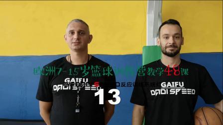 欧洲7-15岁篮球训练营教学48课 第13课 篮球教练 参考