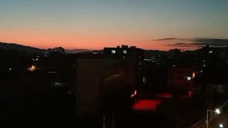 湖南宁远,霞光里静谧的天空之城,美醉了