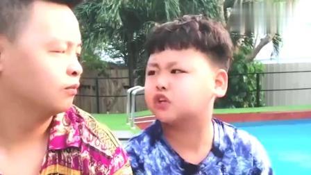 爆笑东北父子,这小孩太能说了,老爸都已经无