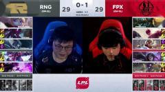 2019英雄联盟 LPL春季赛3.06 RNG vs FPX 第2场