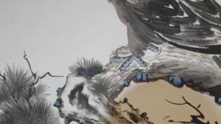 """现场直播:著名书画家王金堂院长作品欣赏 """"一带一路""""文艺复兴领军人物图片"""