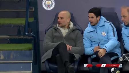 欧冠1_8决赛 王者直播足球解说2回合 曼城7-0血洗沙尔克晋级