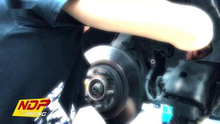 马自达睿翼改装德国TEI Racing制动套件案例