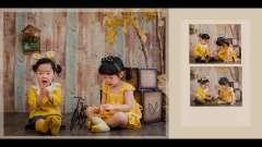 晴朗夏天2周岁写真MV,太可爱了