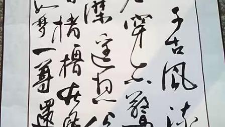 百度方柳行楷书法大江东去浪淘尽作品原声20190404-2
