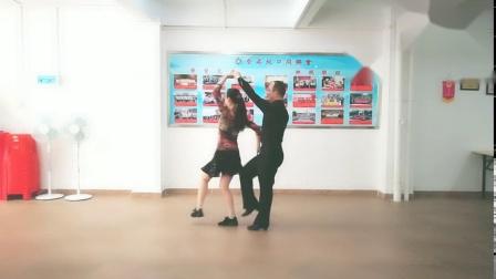《三步踩铜CC》第一套C音乐演示,王雄老师与邬