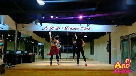抖音热舞【夜之光】完整版 青岛开发区ABD舞蹈