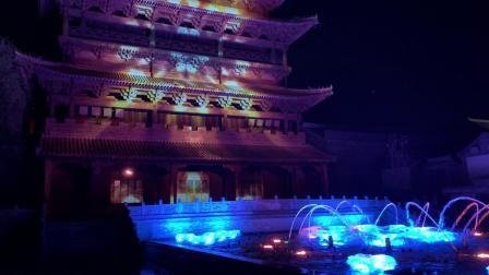 水镇音乐喷泉(1)
