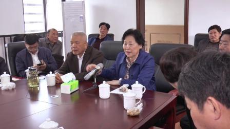省老体协王美香主席莅融调研老年人体育工作