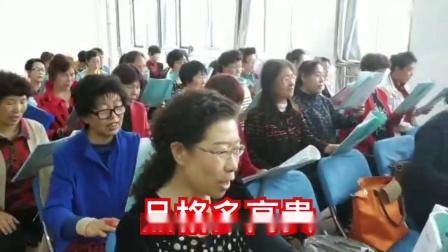 银川老年大陈老师音乐教学:我爱梅园梅(八班