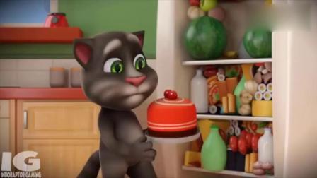 亲子早教 会说话的汤姆猫搞笑视频,汤姆猫榨果
