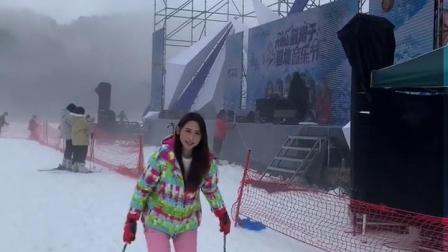 好久没滑雪啦~今天来大明山滑雪 还遇上了氧离