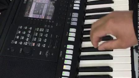 电子琴初学者最基础指法