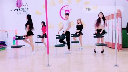 舞蹈学椅子秀专业教学钢管舞飞皇济南