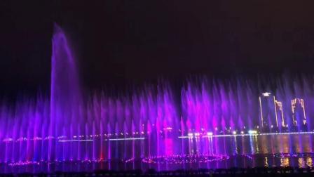 汉中桥北广场音乐喷泉