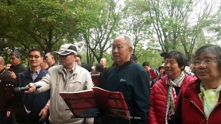 七律《长征》 主持人:赵超英老师。指挥:李永芳