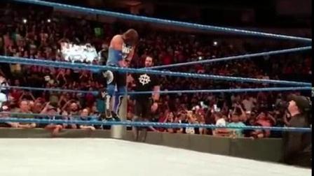 我在WWE传奇大师AJ的挂蛋悲伤, 塞纳&罗曼&