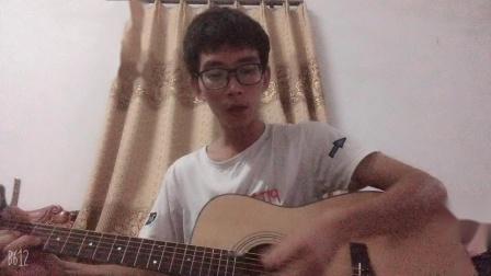 《星空》 原唱许巍 吉他弹唱(扫弦)降了半音