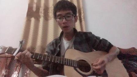 《荷塘月色》 吉他弹唱 凤凰传奇的一首歌曲 很
