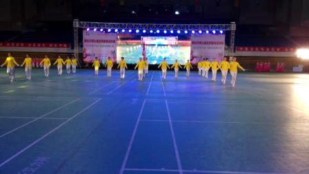 2019,4,20烟台市体育舞蹈协会第五届广场操舞大