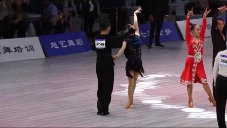 """""""福田杯""""2019第四届中国.深圳体育舞蹈全国公开"""