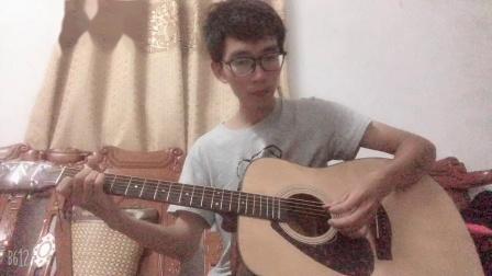 《没有情人的情人节》 吉他弹唱 原唱孟庭苇 男