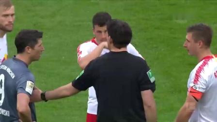 「集锦」德甲-格雷茨卡进球无效 拜仁0-0莱比锡 保留争冠悬念