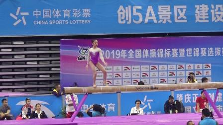 2019年全锦赛 女团决赛