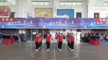 """体育中心模特队参赛广场舞""""共同的我们"""""""
