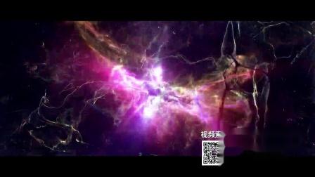 s570 超唯美创意粒子星空星云随音乐节奏跳动舞动