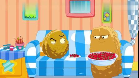 吃草莓-植物大战僵尸搞笑动画