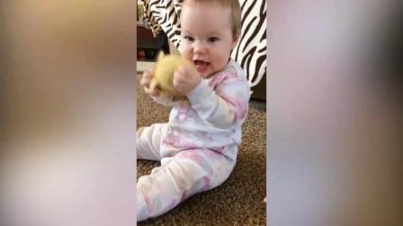 国外搞笑视频 宝宝和宠物 热门视频