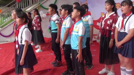 乐山市市中区童家学校庆祝六一 六年级大合唱