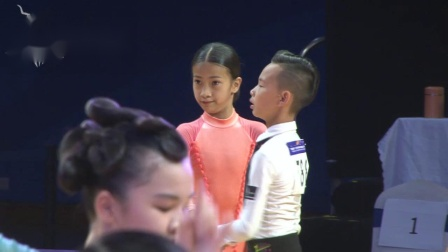 2019年中国体育舞蹈公开系列赛(广州站)12岁以