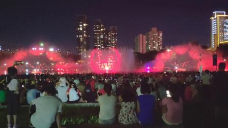 端午节佛山用音乐喷泉展现了中国的悠久文化