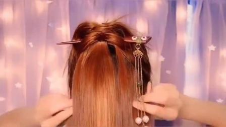 古风发型:超仙的一款发型教程,喜欢古装的你,还在等什么