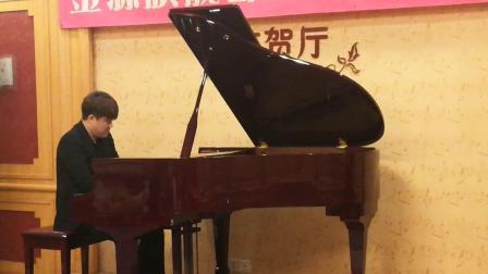 2019年6月9日师生钢琴音乐会上张骁Eric老师弹奏肖
