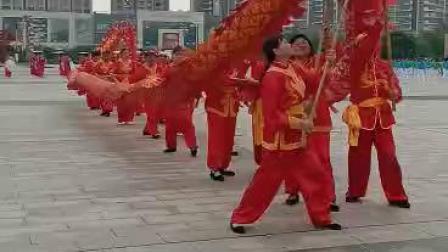 江西抚州临川区老年体协体育运动会龙采台打龙