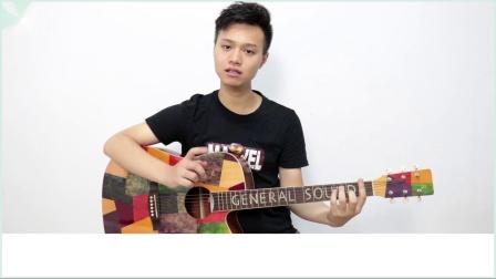 零基础吉他弹唱教学-超详细大横按小横按教学