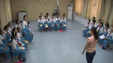人教版五年级音乐下册第二单元_五十六朵花唱歌