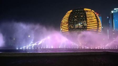 杭州钱江新城(杭州大剧院)音乐喷泉《茉莉花—十