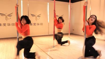 零基础小姐姐跳钢管舞《*ack2U》