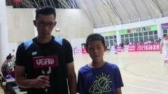 球源体育篮球俱乐部9号吕锷和儿子的采访
