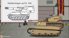 坦克世界搞笑动画:KV44你跑串场了,赶紧苏醒来